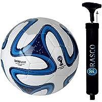 RASCO Combo Football with Air Pump (Multicolour)