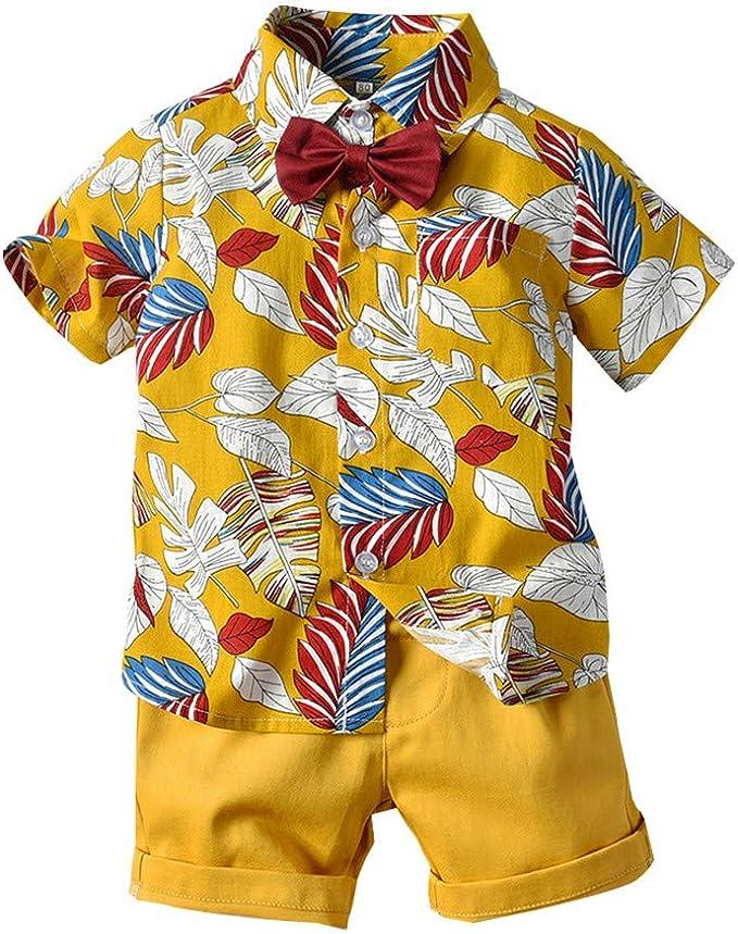 Ropa Bebé Niño Verano, K-Youth Conjuntos de Ropa para Niños Hawaii ...