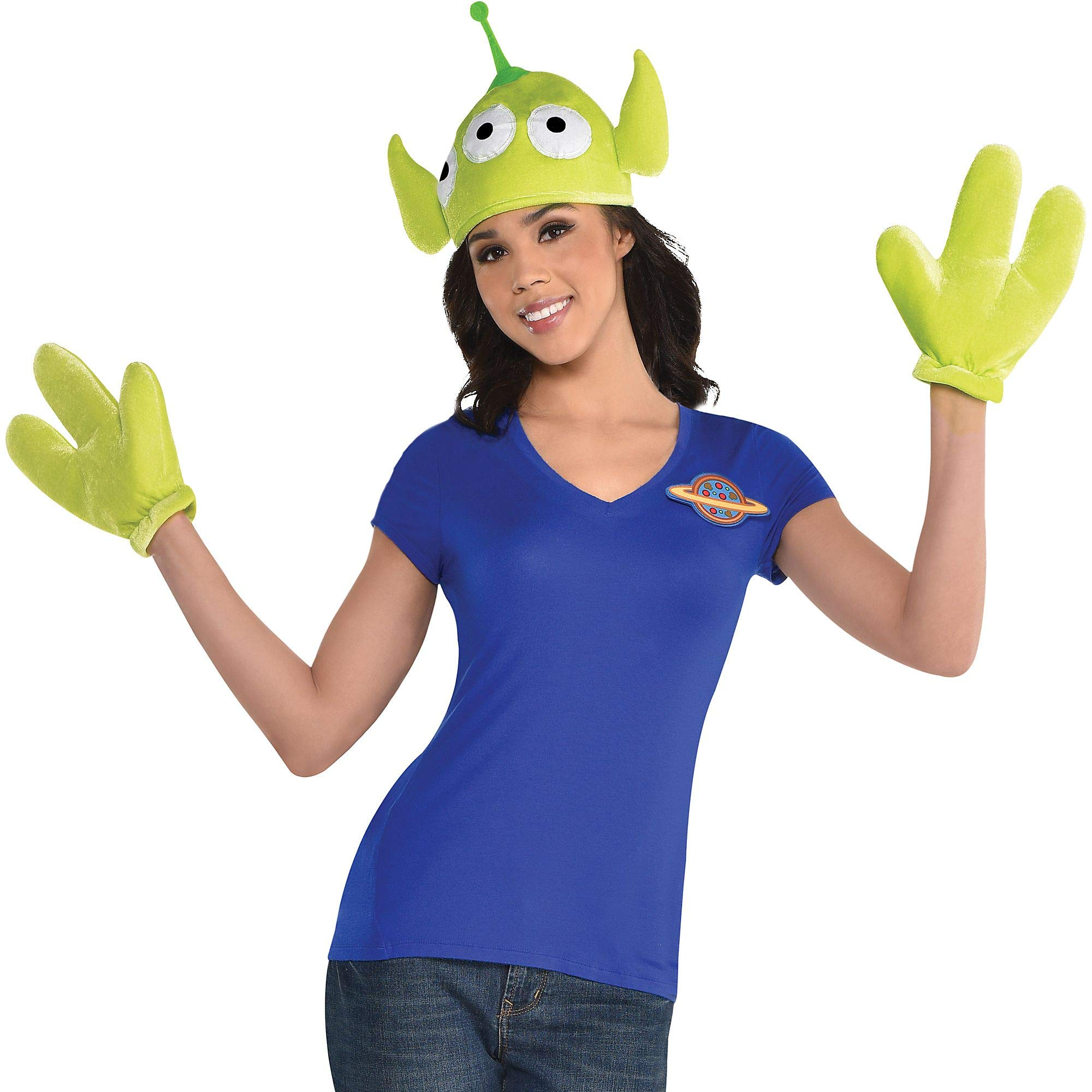 Toy Story 4 Halloween Costumes.Party City 3 Eyed Alien Halloween Costume Accessory Kit For Children Toy Story 4 Standard Size