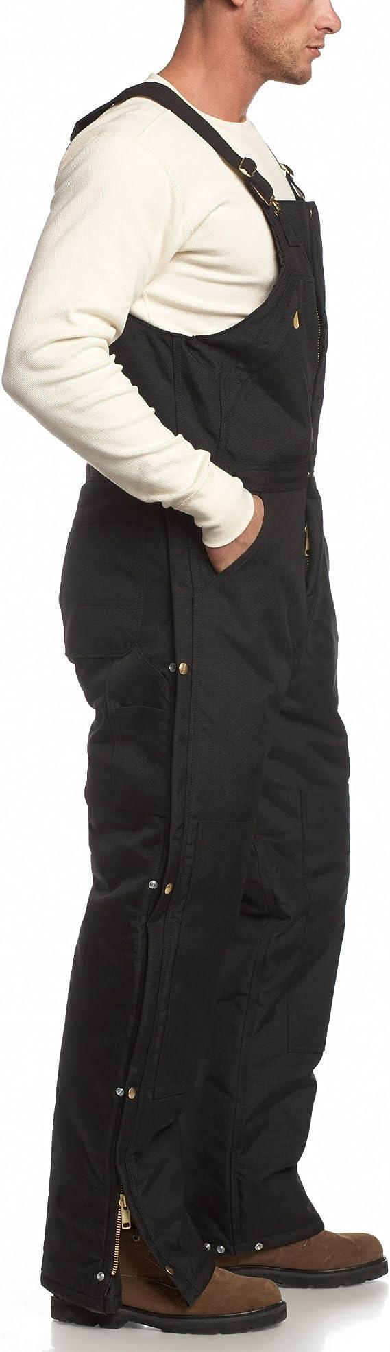 Carhartt Mens Yukon Arctic Quilt Lined Zip to Waist Biberalls R33