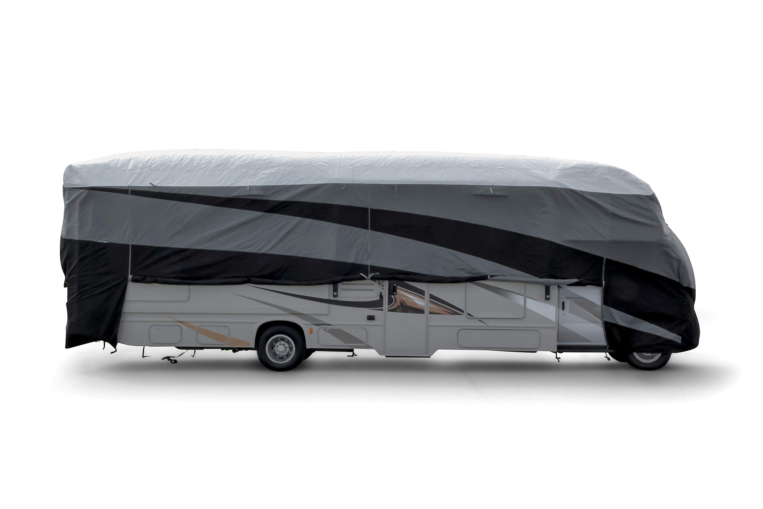 Camco ULTRAGuard Supreme Cover-Extremely Durable Design Fits Class C Model RVs 23' -26', Weatherproof with UV Protection and Dupont Tyvek Top (56114) by Camco (Image #5)