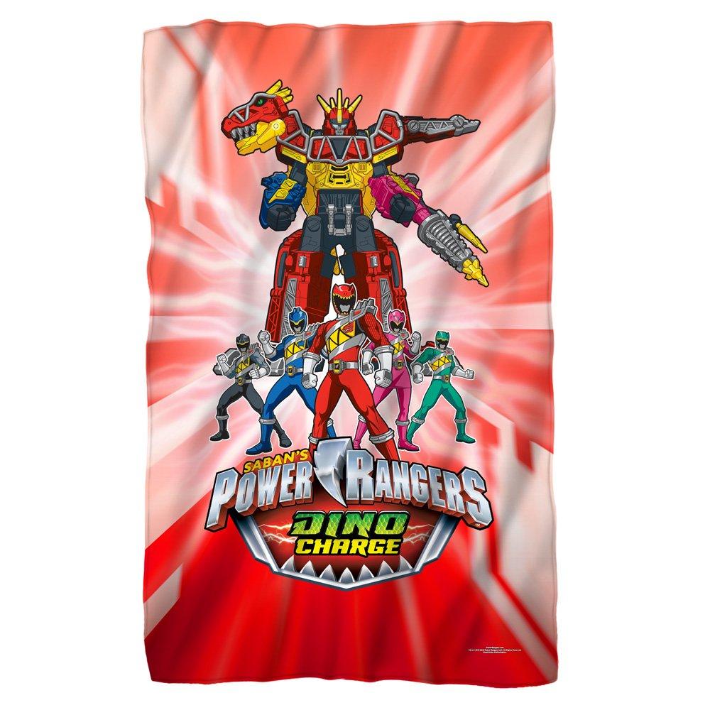 "Dino Ranger -- Power Rangers -- Fleece Throw Blanket (36""x58"")"
