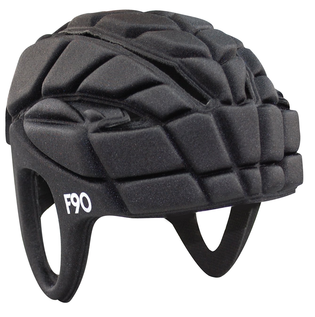 Full90 Sports FN1 Performance Headgear, Large, Black