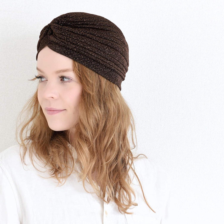 Glitter Fashion Turban Hat Twist Boho Headwrap Chemo CHARM Casualbox