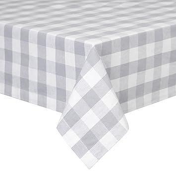 VEEYOO 60 X 102 Inch (152 X 259 Cm) Rectangular 100% Cotton Plaid