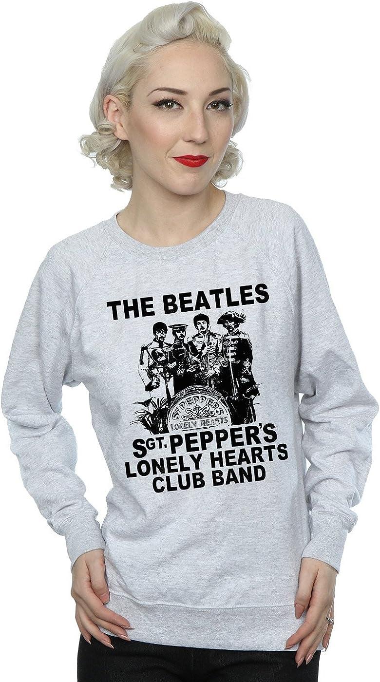 The Beatles Mujer Lonely Hearts Club Band Camisa De Entrenamiento