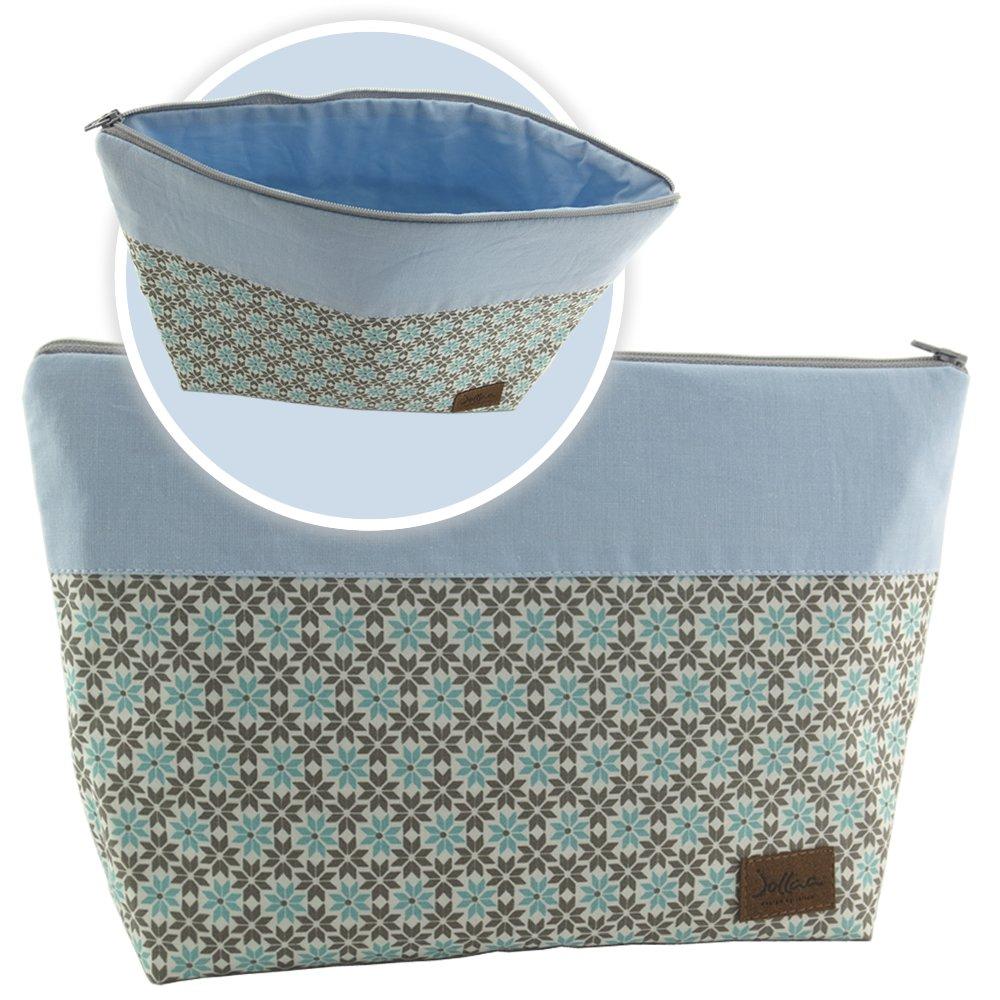 Wickeldecke Geschenk Design Blume Mint Mamibox Set ❤ SmukkeDesign Wickeltasche