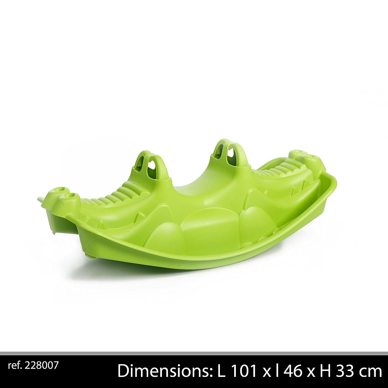PARADISO TOYS NV Dondolo coccodrillo verde 1m, t02319
