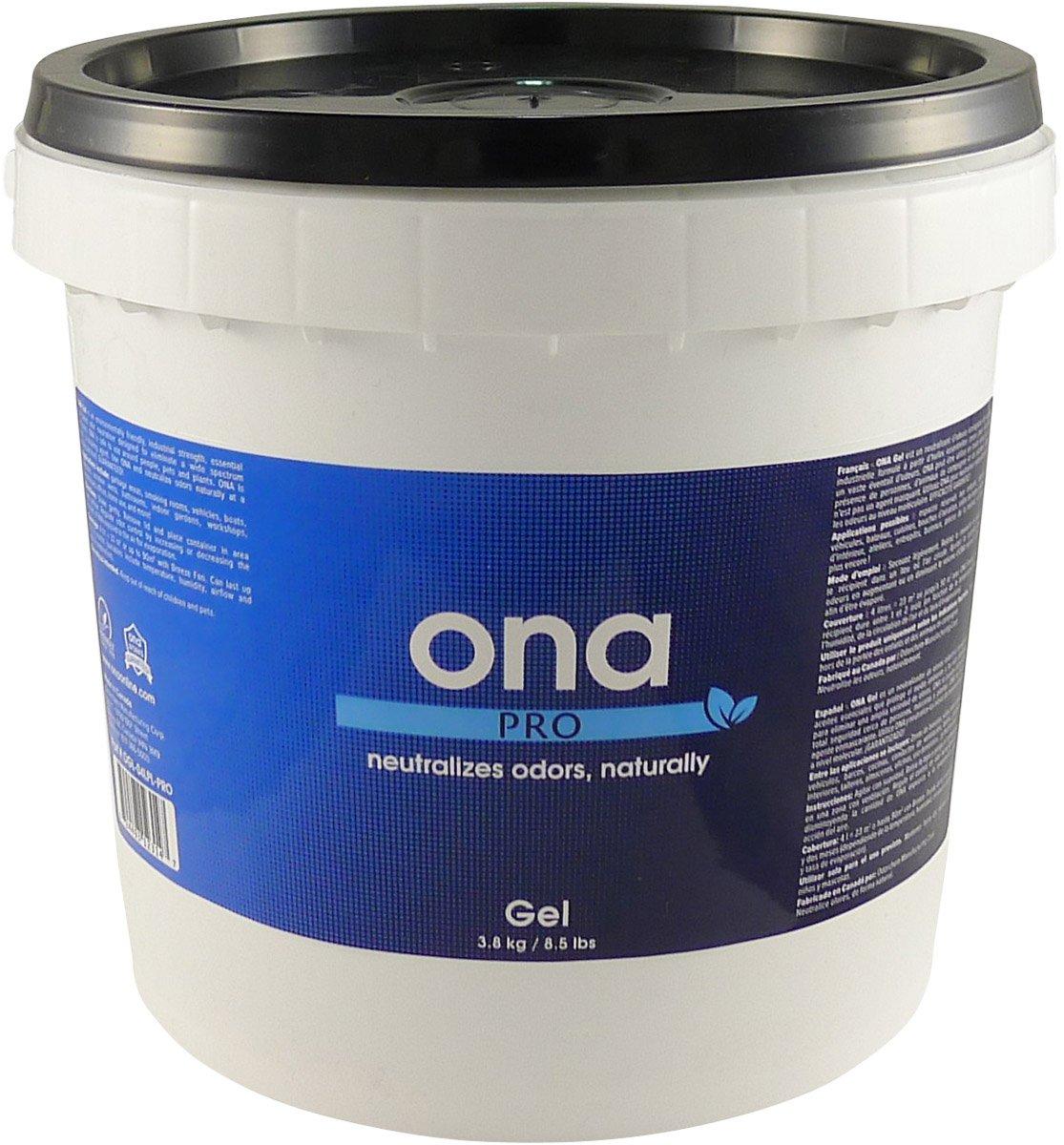 1 gallon Pail Ona Gel Fresh Linen, 5 Gallon Nutrient, Pail, White