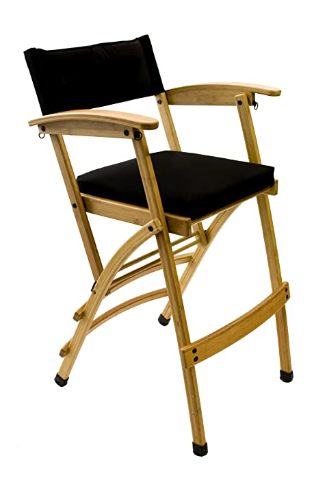 Hollywood Chairs By Totally Bamboo Deluxe 32u0026quot; Bamboo Director Chair,  ...