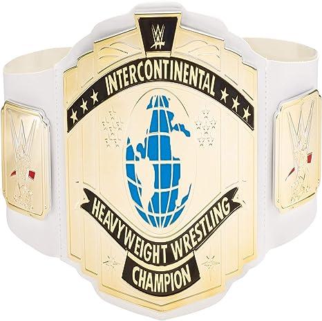 WWE Mattel elite round intercontinental championship belt