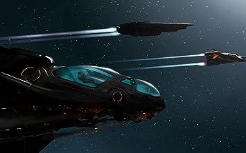 amazon com elite dangerous ships space stars flying man 20x30 inch