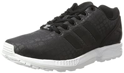 adidas ZX Flux, Baskets Basses Femme, Noir Core Black/Footwear White, 36
