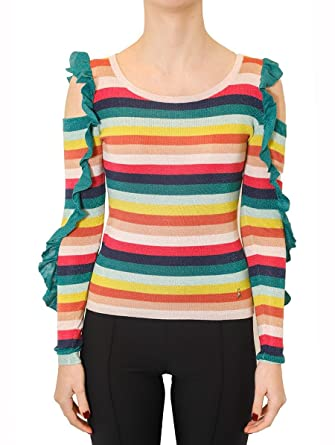 e96b012b6f PATRIZIA PEPE Sweater With Lurex  Amazon.co.uk  Clothing