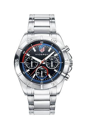 Viceroy Reloj Multiesfera para Hombre de Cuarzo con Correa en Acero Inoxidable 42315-57: Amazon.es: Relojes
