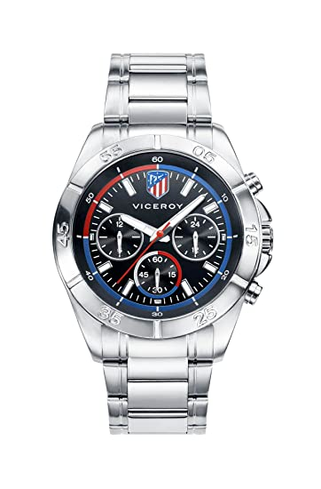 Viceroy Reloj Multiesfera para Hombre de Cuarzo con Correa en Acero Inoxidable 42315-57