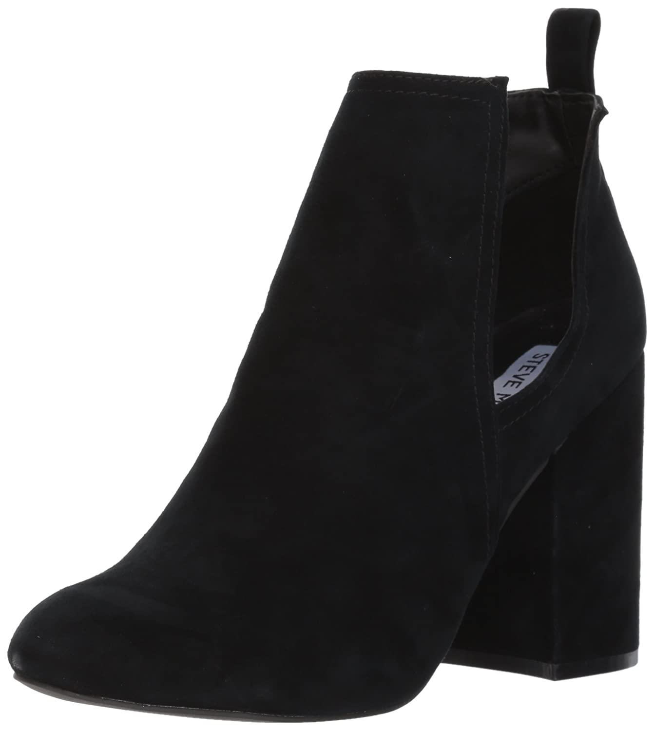 Steve Madden Women's Naomi Ankle Bootie B06X6NBB7P 8 B(M) US|Black Suede