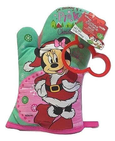 disneys minnie mouse christmas sugar cookie kit comes with sugar cookie mix minnie mouse