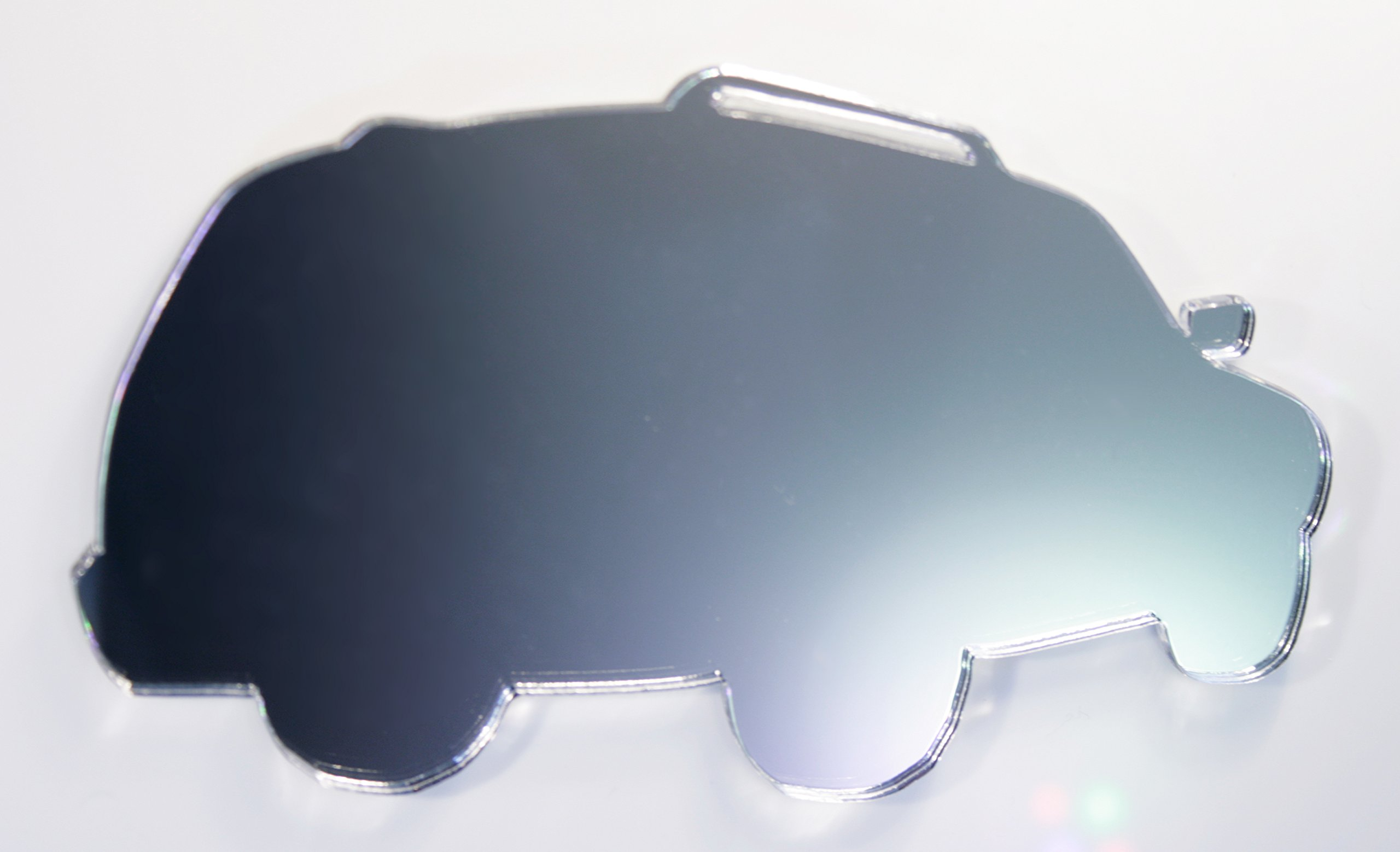 Car Mirror - Available in various sizes, including sets for crafting kits - Set of 10 (5cm each)