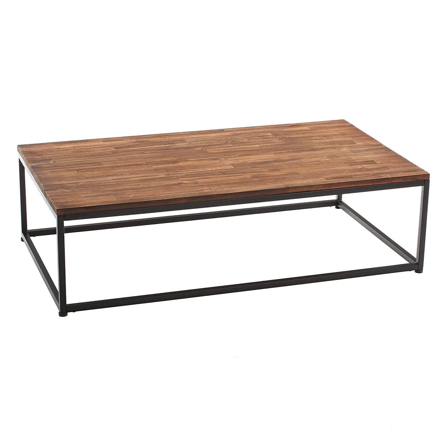 Marvelous table basse fer et bois 13 table basse de - Table basse de salon en bois ...