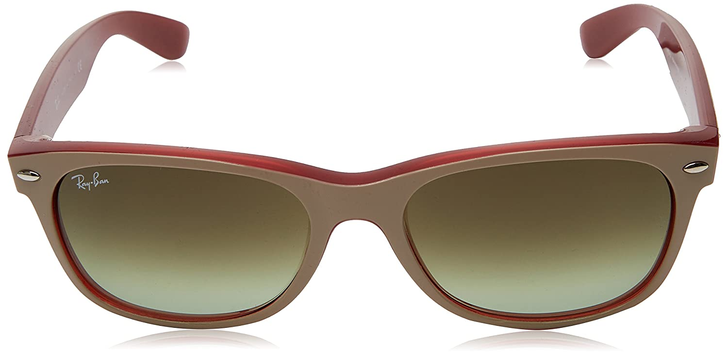 896dcd0004913 Ray-Ban RAYBAN 0RB2132 6307A6 55 Montures de lunettes Matte Beige on Opal  Red