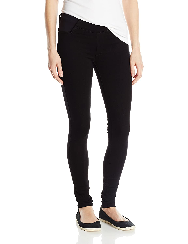 James Jeans Women's Twiggy Under Belly Maternity Legging Jean In Black Swan JTWGMAT