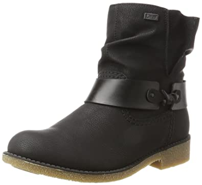 Womens Y9770 Boots, Black, 3.5 UK Rieker