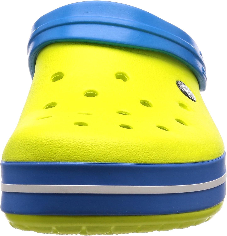 Crocs Crocband Tie Dye Mania Flip W, Chaussure D\'eau Femme Tennis Ball Green Ocean