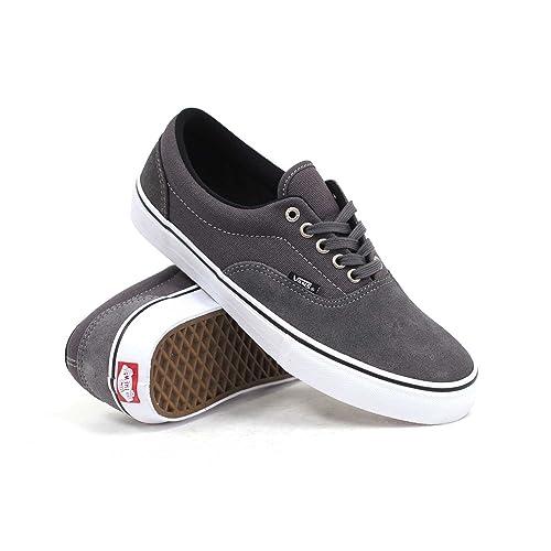 10ed72da03974 Amazon.com: Vans Era Pro (Dark Grey) Men's Skate Shoes7.5 ...