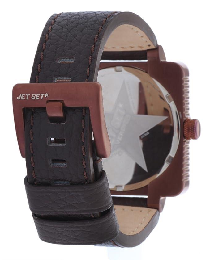 3c7cb5d47e74 Amazon | ジェットセットメンズ腕時計Verbierダークブラウンj17905 – 756 | メンズ腕時計 | 腕時計 通販