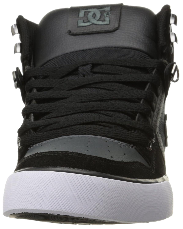 bf7842eef57 Spartan HI WC SE Sneaker DC para hombre Negro   gris oscuro