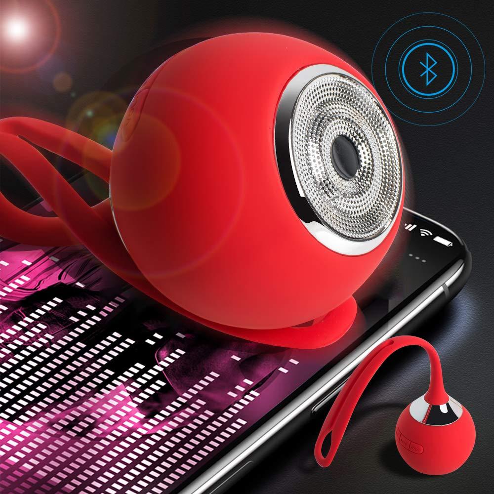 Fencia 防水Bluetoothスピーカー ポータブルワイヤレスミニスピーカー MP3 TFカード付き HDオーディオと重低音のステレオスピーカー シャワー&アウトドアスポーツ 旅行 自転車用   B07PMCD9PP