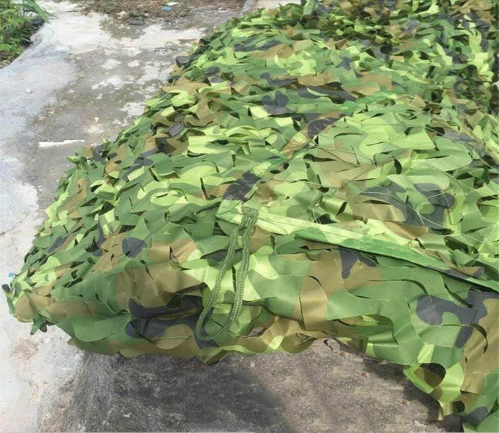 FENG-XIANG-HANG Protección del Sol Red de Camuflaje del Desierto Planta Verde Jardín Acampar al Aire Libre Selva Decoración Red (Color : A, Tamaño : 5 * 6m): Amazon.es: Jardín