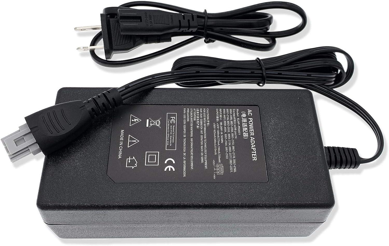 CBK Adapter Power Supply Cord for HP DeskJet OfficeJet Printer PSC 1315 5610 5510 6310 J6450 J6480 Photosmart C3140 C4180 PSC 1350 1510 1610 2510 5550w 0957-2146 0957-2094