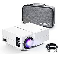 Vamvo YG450 Full HD 1080p Portable Movie Projector (White)
