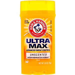 ARM & HAMMER ULTRAMAX Anti-Perspirant Deodorant Invisible Solid Unscented 2.60 oz