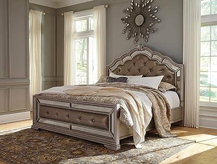 eeaa920e53df Amazon.com: Milo Italia Ashley Collection BR-805-46-43-90 Queen Size ...