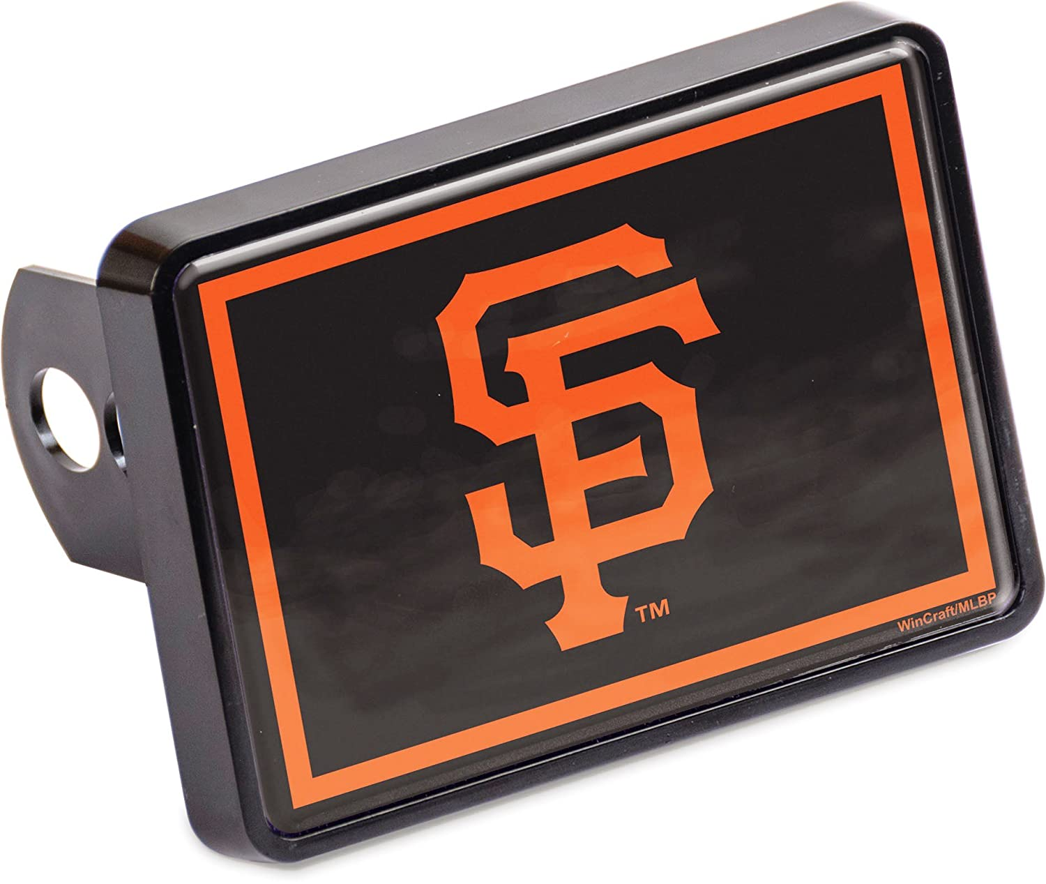 Stockdale San Francisco Giants Universal Hitch Cover Bumper Trailer Auto Cap Baseball