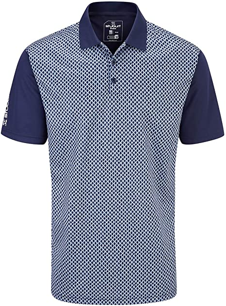 Stuburt Sbts1134 Mens Chartsworth Golf Polo Shirt Top Sbts1134 ...