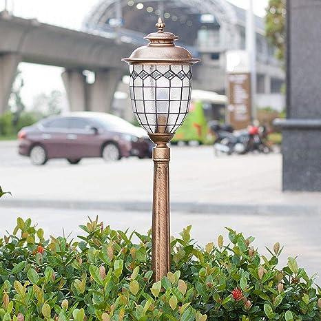 LYDIANZI Lámpara al Aire Libre, Luces de Camino al Aire Libre, Retro Luces de jardín LED de Gran luminosidad súper Brillantes for césped, Patio y Patio.: Amazon.es: Deportes y aire libre