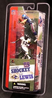 McFarlane NFL 7 cm - 3' Fig. Serie I (Je. Shockey/Ray Lewis)