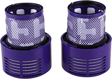 SODIAL Washable Filter Unit for Dyson V10 SV12 Cyclone Animal Absolute Total Clean Vacuum Cleaner (Pack of 2)