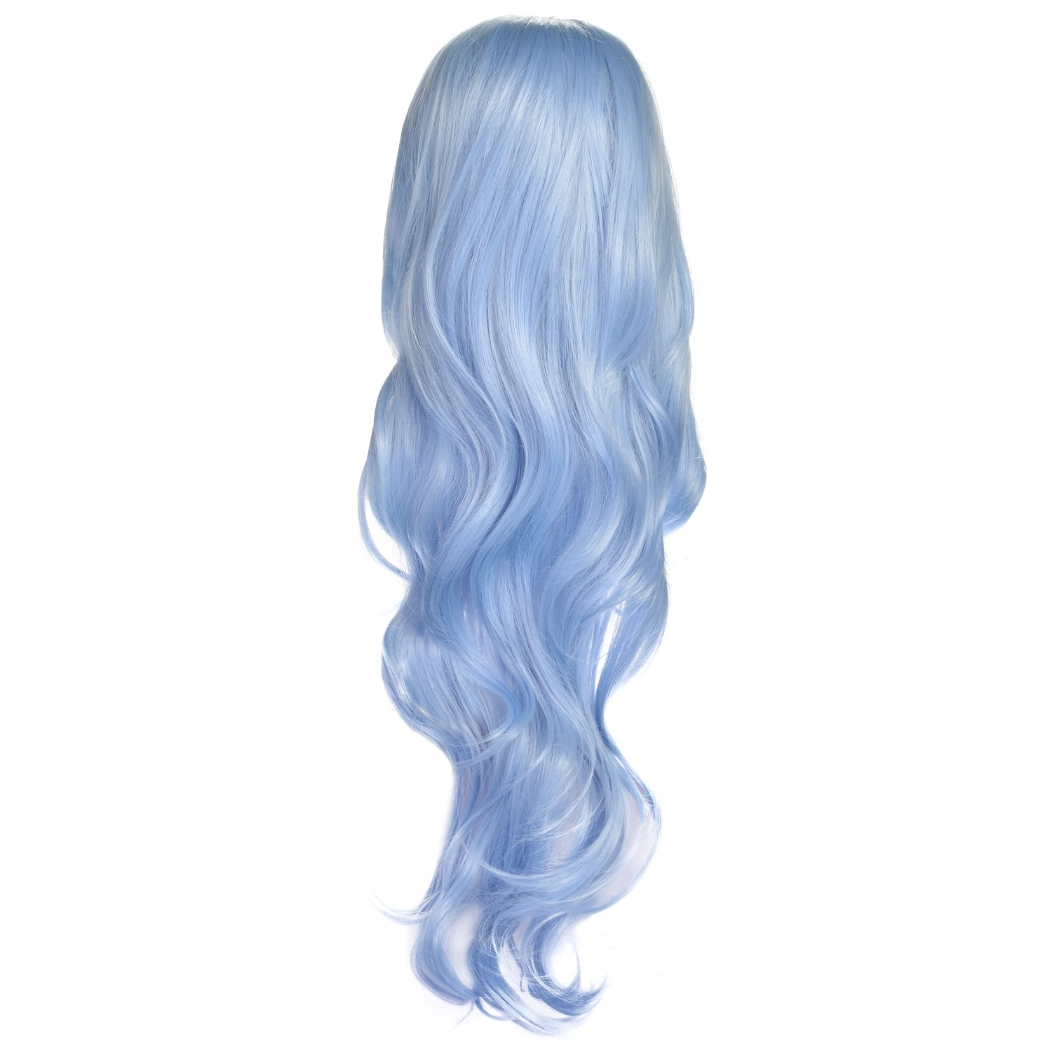AGPtek New style black Fashion Long straight women's Girl full Hair Wig cosplay MamBate