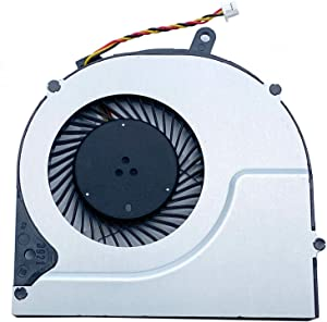 CAQL CPU Cooling Fan for Toshiba Satellite S55T-A5331 S55T-A5334 S55T-A5337 S55T-A5360 S55T-A5379 S55T-A5389 S55T-A5534 S55T-A5277 S55DT-A5130 S55D-A5383, P/N: DFS532305M30T FC90 DFS532305M30T FC92