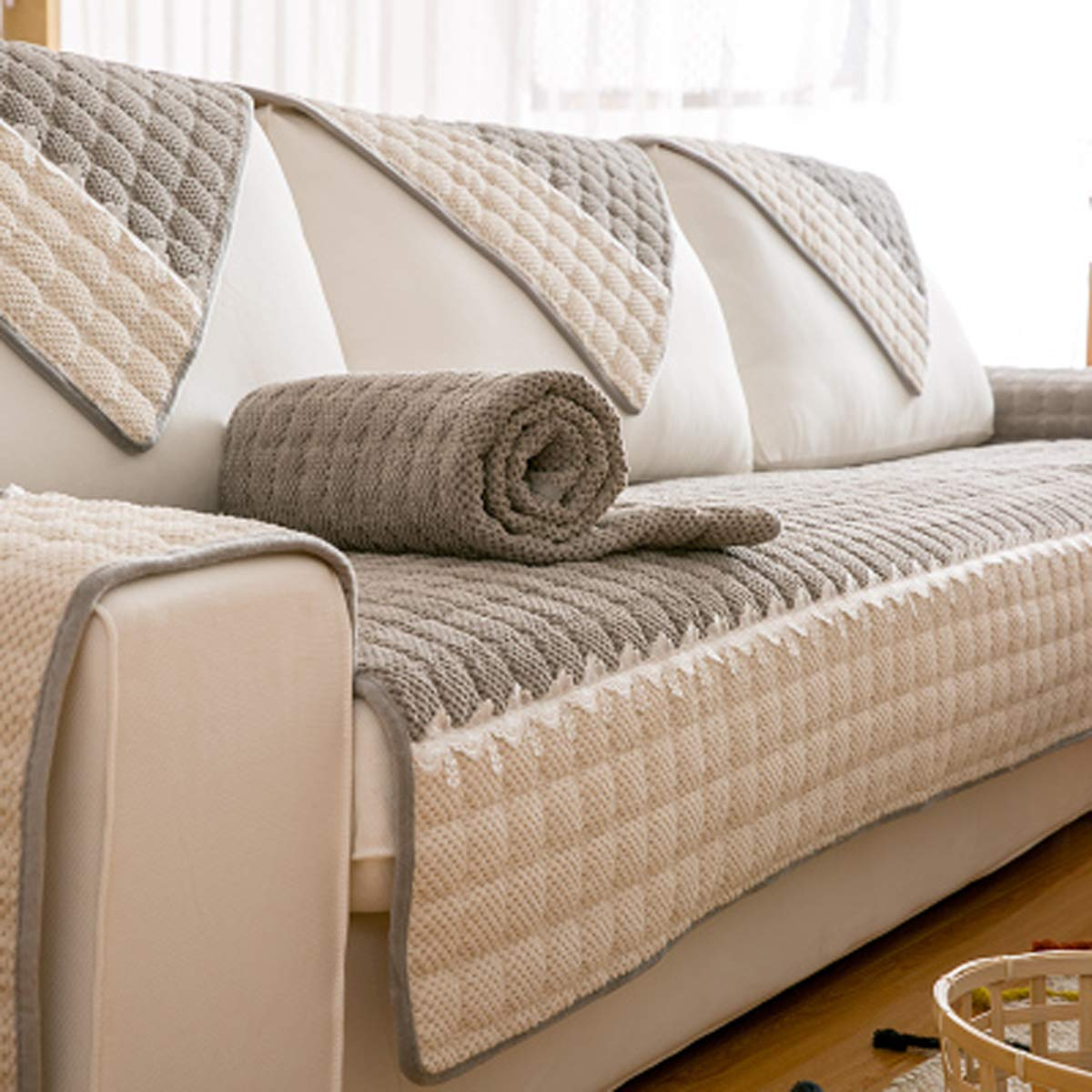 Q&F Funda para sofá 1 Pieza Protector para sofás Sofá para ...