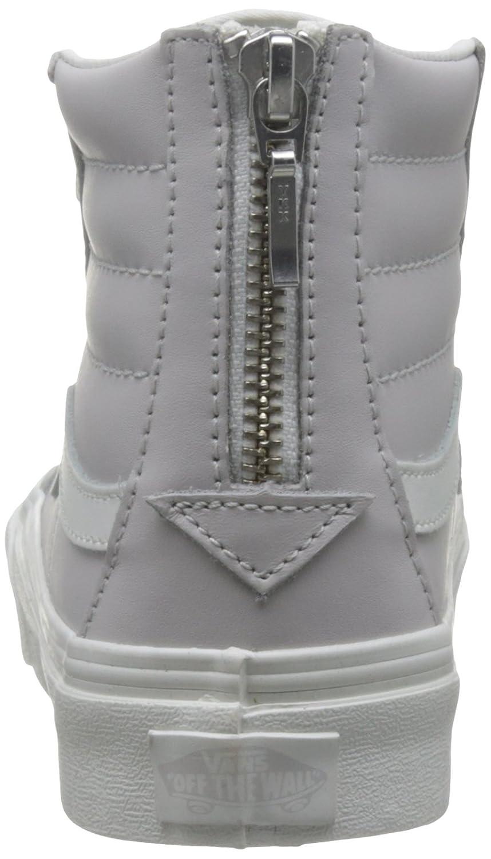 Vans Unisex Sk8-Hi Slim Women's Skate Shoe B01I2AXDXK 10 M US Women / 8.5 M US Men|Wind Chime/Blanc De Blanc