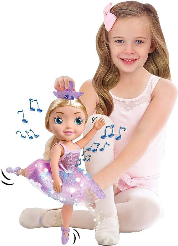 Bandai - Ballerina Dreamer - grande poupée danseuse 45 cm - poupée ballerine musicale qui danse vraiment - HU07229