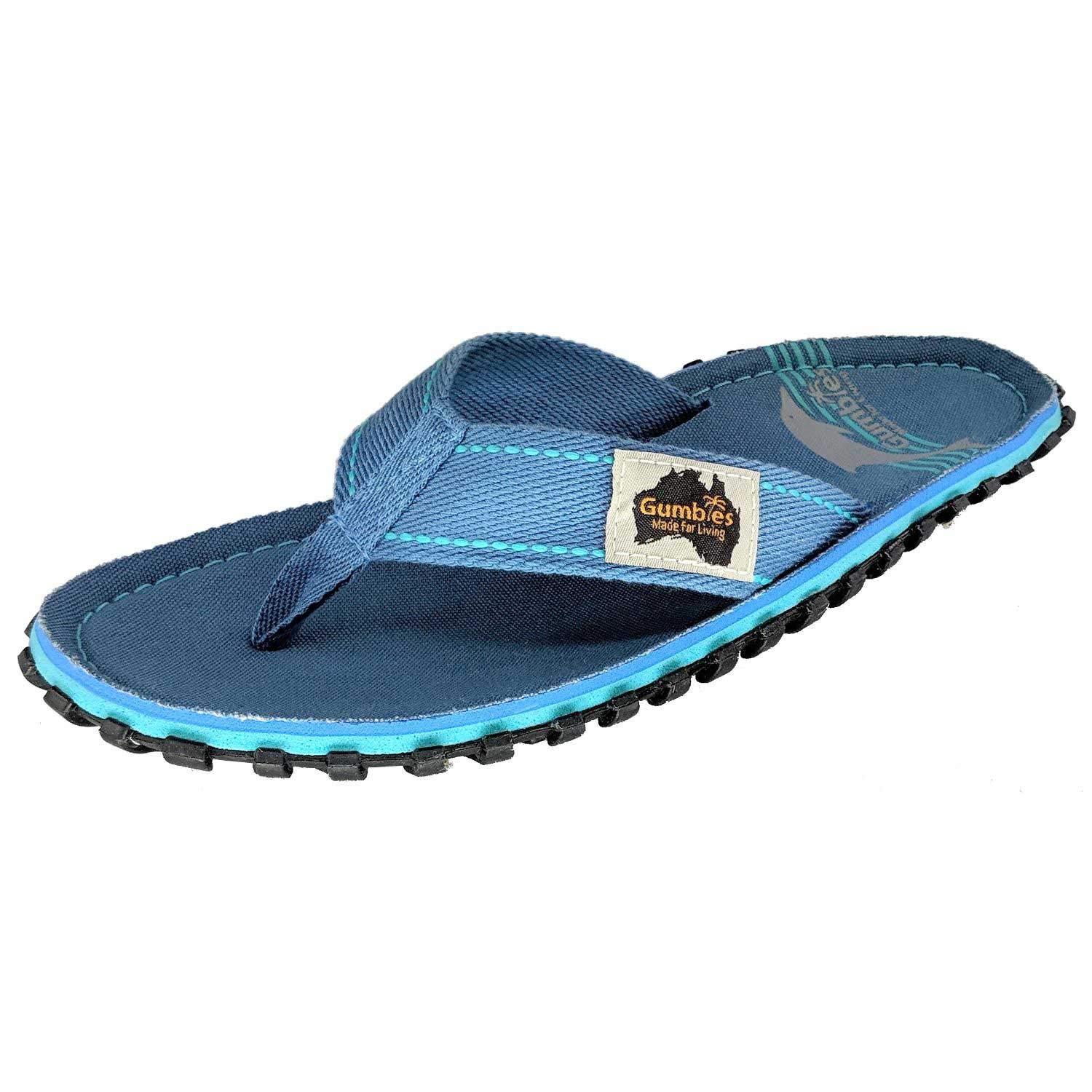 Grass Gumbies Isleer Stampato Donna Spiaggia Flip Infradito Nuovo