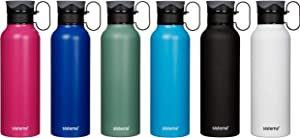 Sistema Stainless Steel Bottle, 600ml. Assorted Colours.