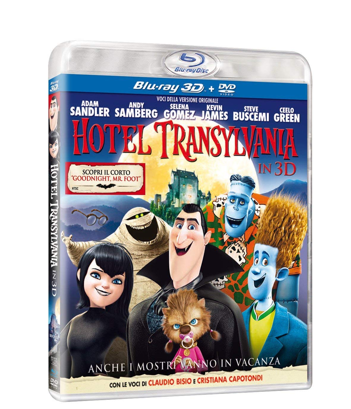 Hotel Transylvania [Italia] [Blu-ray]: Amazon.es: Genndy ...